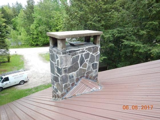 Vermont State Homes Article: Chimney Savers Tends to Your Chimney's Every Need